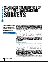 Customer Satisfaction Report